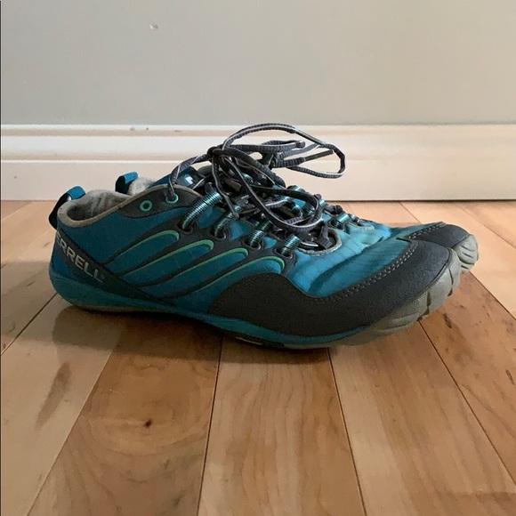 Merrell Shoes - 7.5 Barefoot  Lithe Glove Castle Rock Merrell Shoe